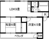 松井マンション 旭区新森7 2LDKのサムネイル