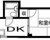 サニーコーポ北浦 旭区中宮2 1DKのサムネイル