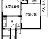 日建ハイツ 旭区中宮4 2Kのサムネイル