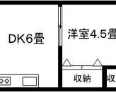 アサヒマンション 旭区森小路1 2DKのサムネイル
