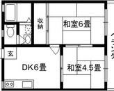 プチガーデン 旭区新森7 2DKのサムネイル